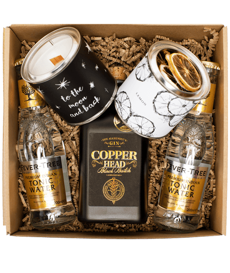 Copperhead Black Batch Gin Box