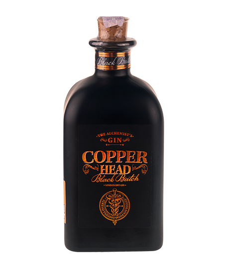COPPERHEAD BLACK BATCH 0,50 l - Gin