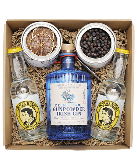 Drumshanbo Gunpowder Irish Gin 0,5l gin box