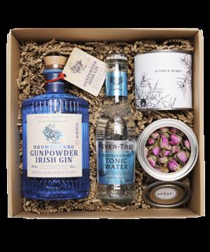 Gunpowder 0,5 l gin box perzsa rózsával és borókabogyóval