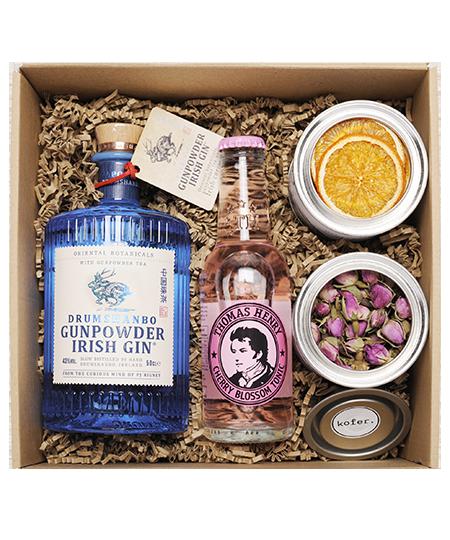 Gunpowder 0,5l gin box perzsa rózsával és naranccsal