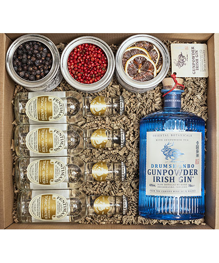 Gunpowder gin box kofer.