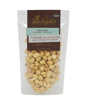 Joe & Sephs gin & tonic ízű popcorn 110g