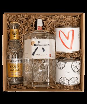 Roku gin box