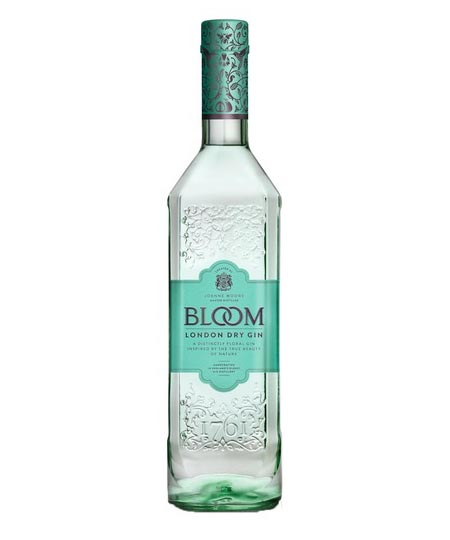 bloom london dry gin 1,0l 40%
