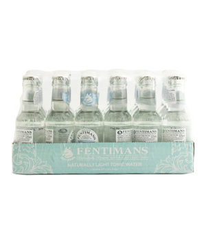 24 db Fentimans Light tonic water 125ml